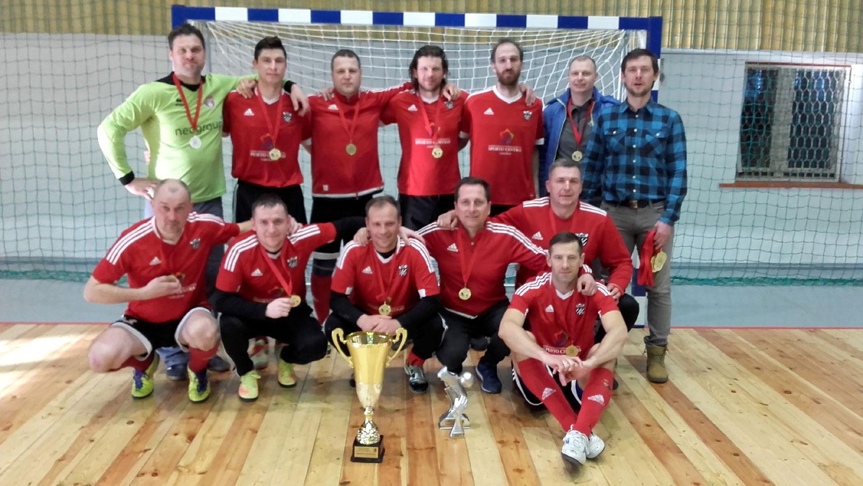 Žemaitijos veteranų salės futbolo pirmenybėse triumfavo gargždiškiai