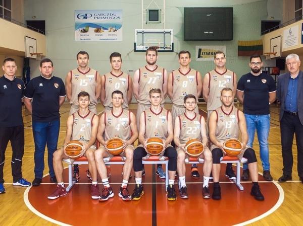"""""""Gargždų SC"""" krepšininkai reguliarųjį sezoną užbaigė dviem pergalėmis"""