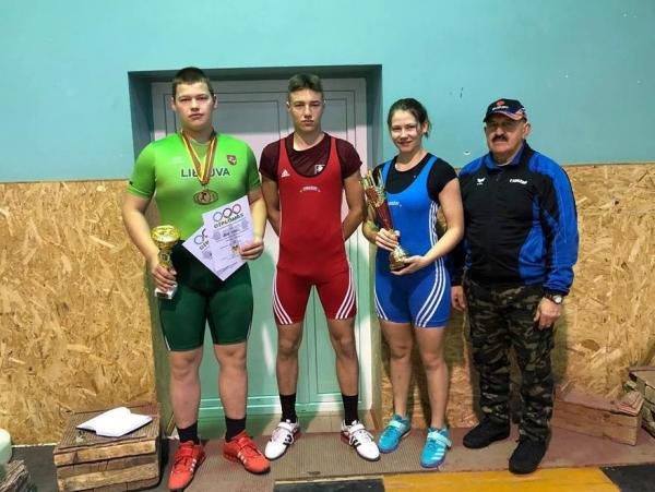 Gargždų sunkiaatlečiai puikiai pasirodė Lietuvos čempionate