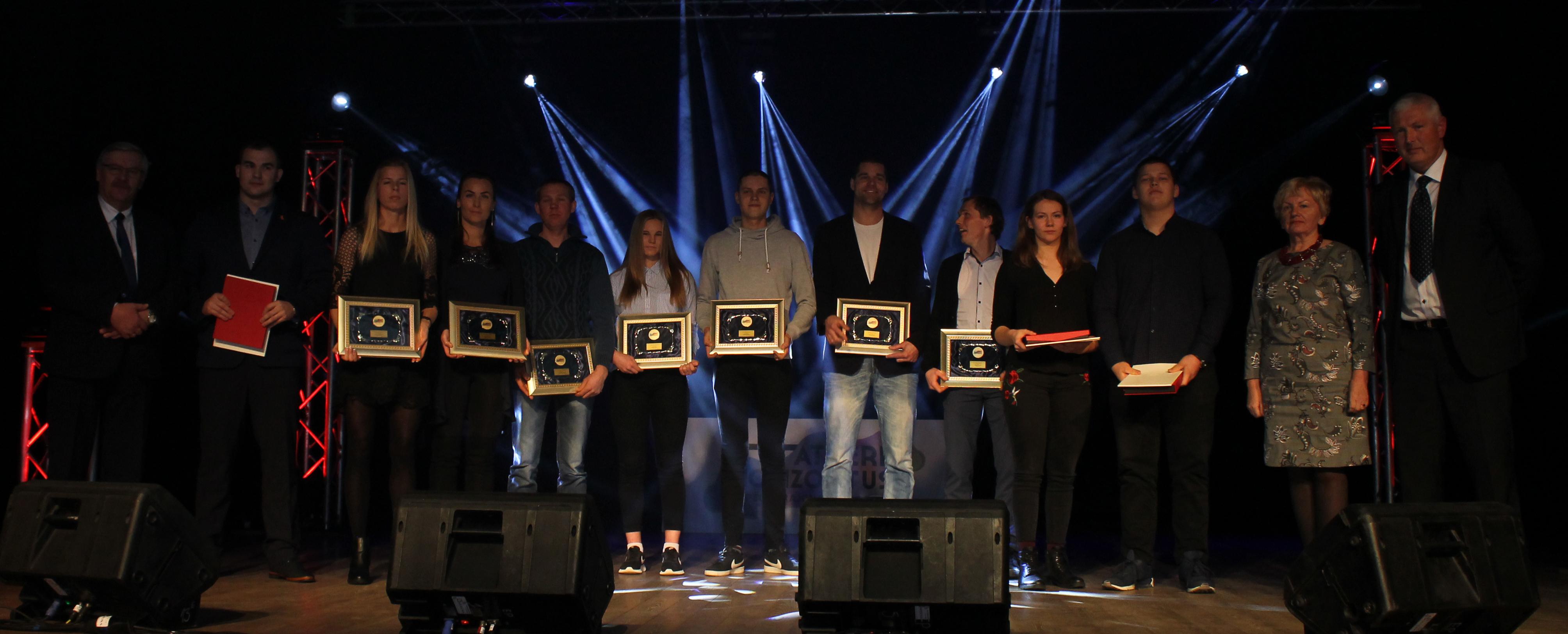 Apdovanoti 2018 metų geriausi sportininkai, treneriai ir komandos
