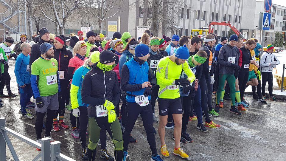 Jubiliejinis Kovo 11-osios bėgimas – žiemiškomis oro sąlygomis (fotogalerija)