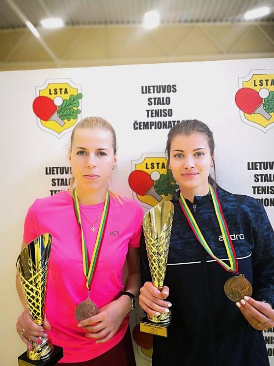 Lietuvos stalo teniso čempionate – puikus A. Rasimavičienės pasirodymas