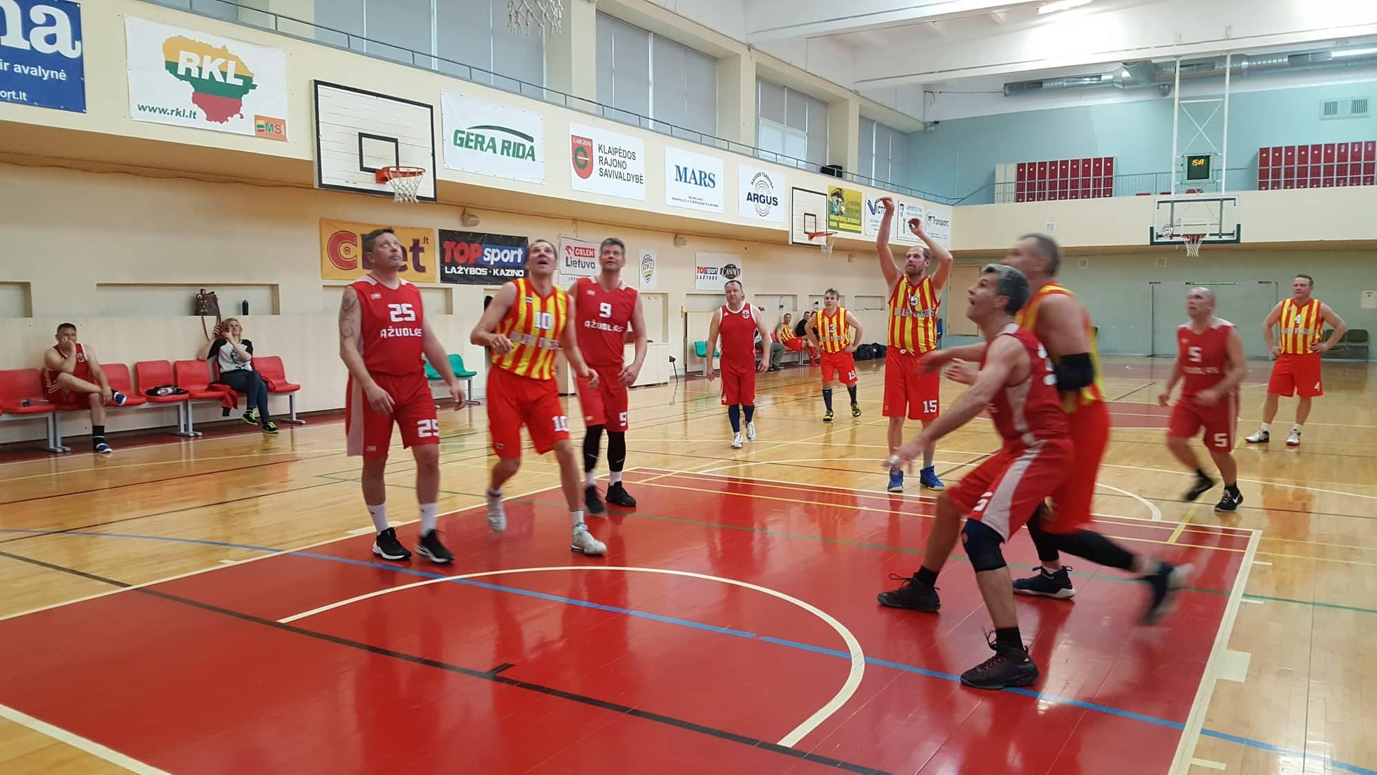 Rajono veteranų krepšinio pirmenybės – finišo tiesiojoje