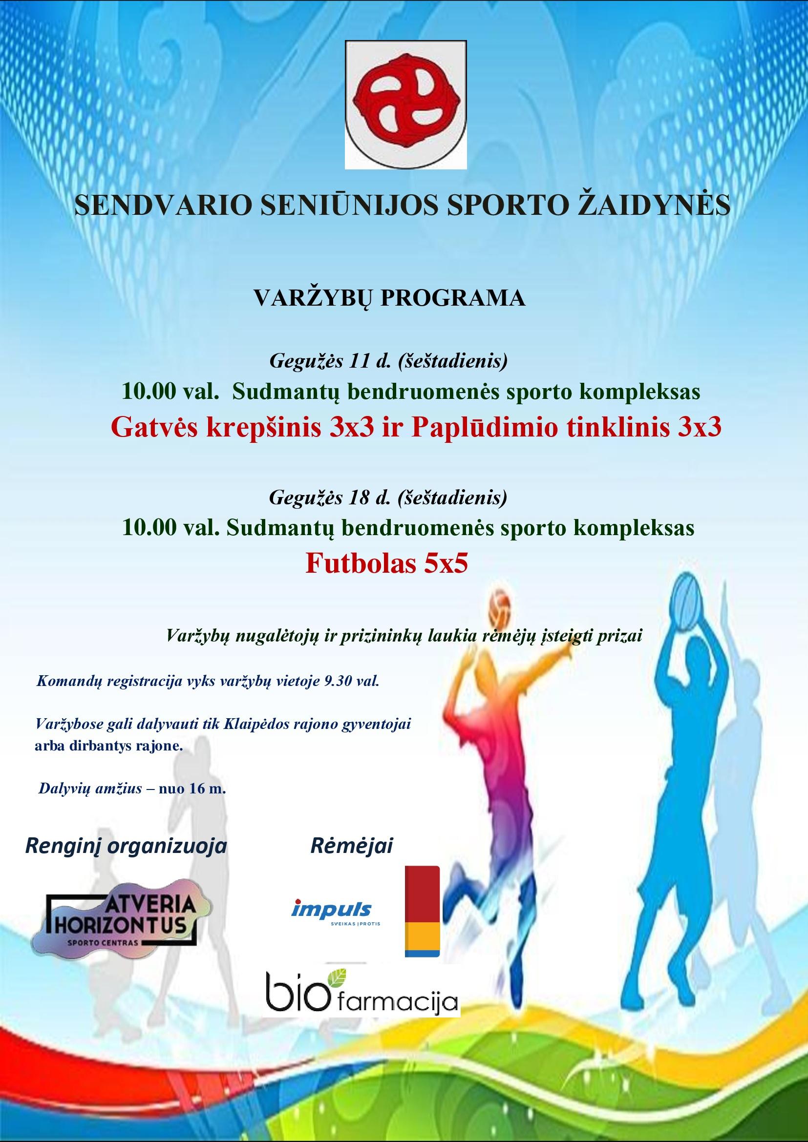Sendvario seniūnijos sporto žaidynės
