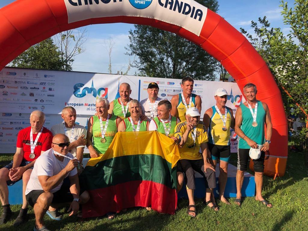 Europos meistrų žaidynėse – medaliai Gargždų baidarininkams
