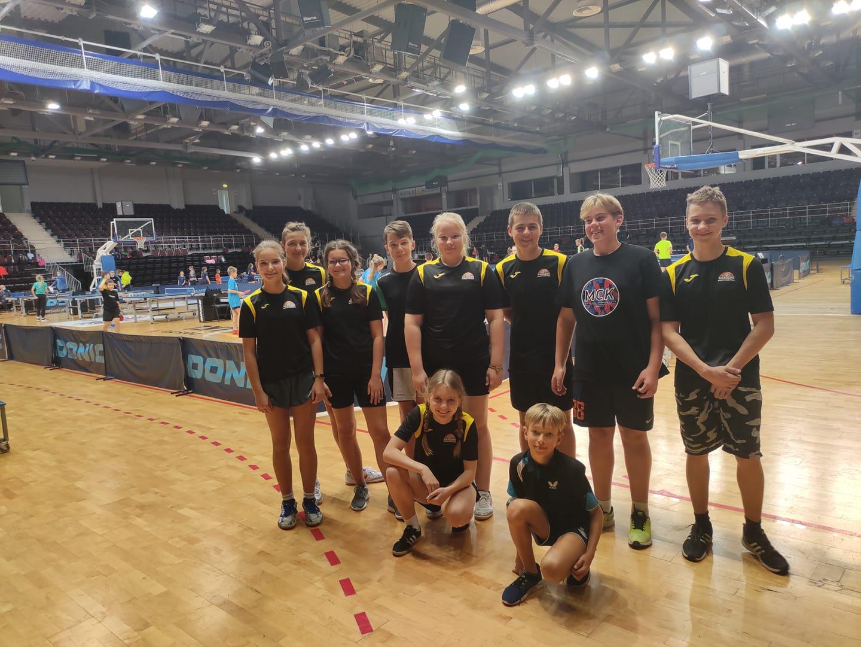 Jaunieji stalo tenisininkai varžėsi dėl teisės dalyvauti Olimpinių vilčių pirmenybėse