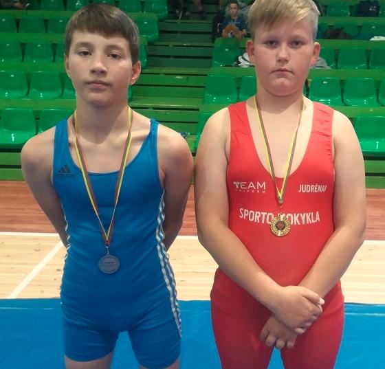 Imtynininkai iš U13 žaidynių grįžo su medaliais