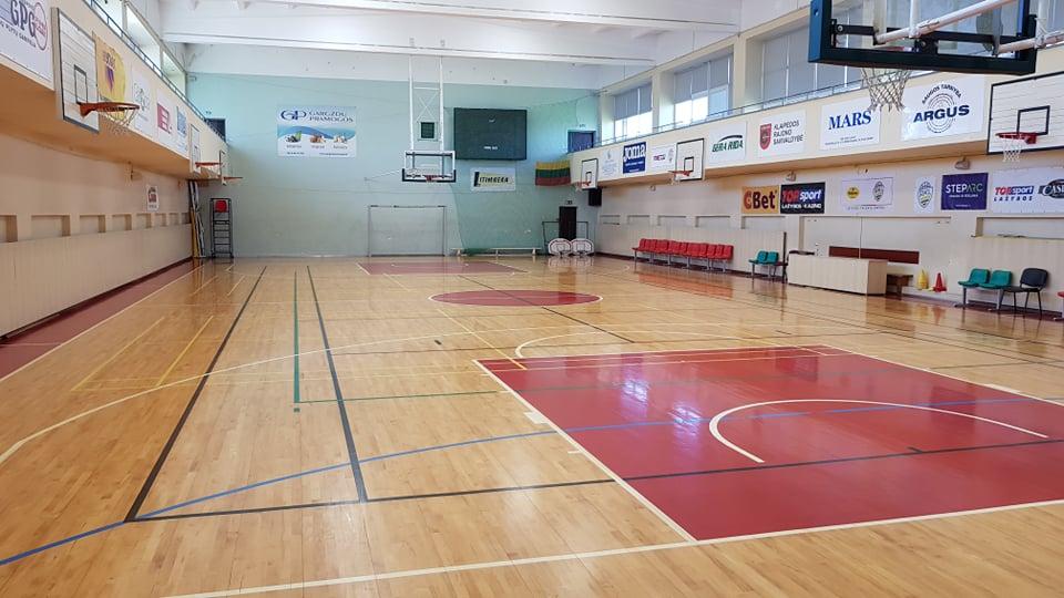 Išsinomuok Sporto centro salę