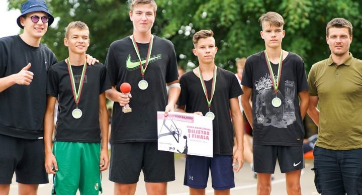 Praūžė pirmasis Klaipėdos rajono 3 prieš 3 čempionato etapas