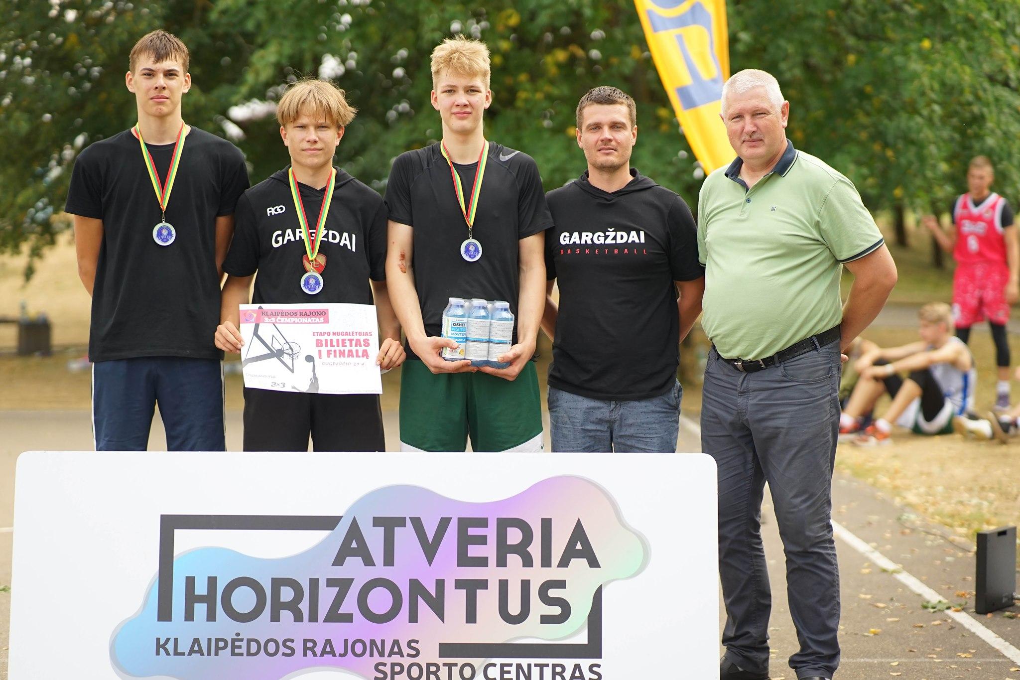 II Klaipėdos rajono 3×3 čempionato turas paženklintas dalyvių gausa