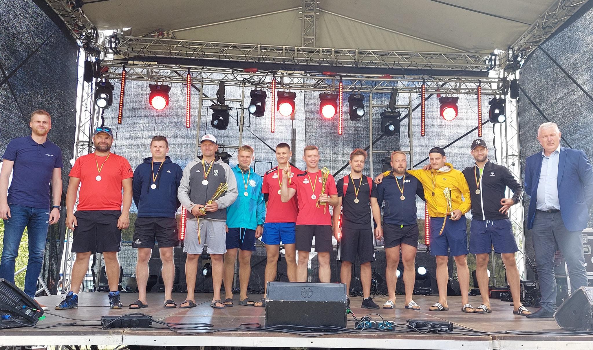 Gargždų miesto gimtadienio sporto renginius vainikavo Klaipėdos rajono seniūnijų varžybos