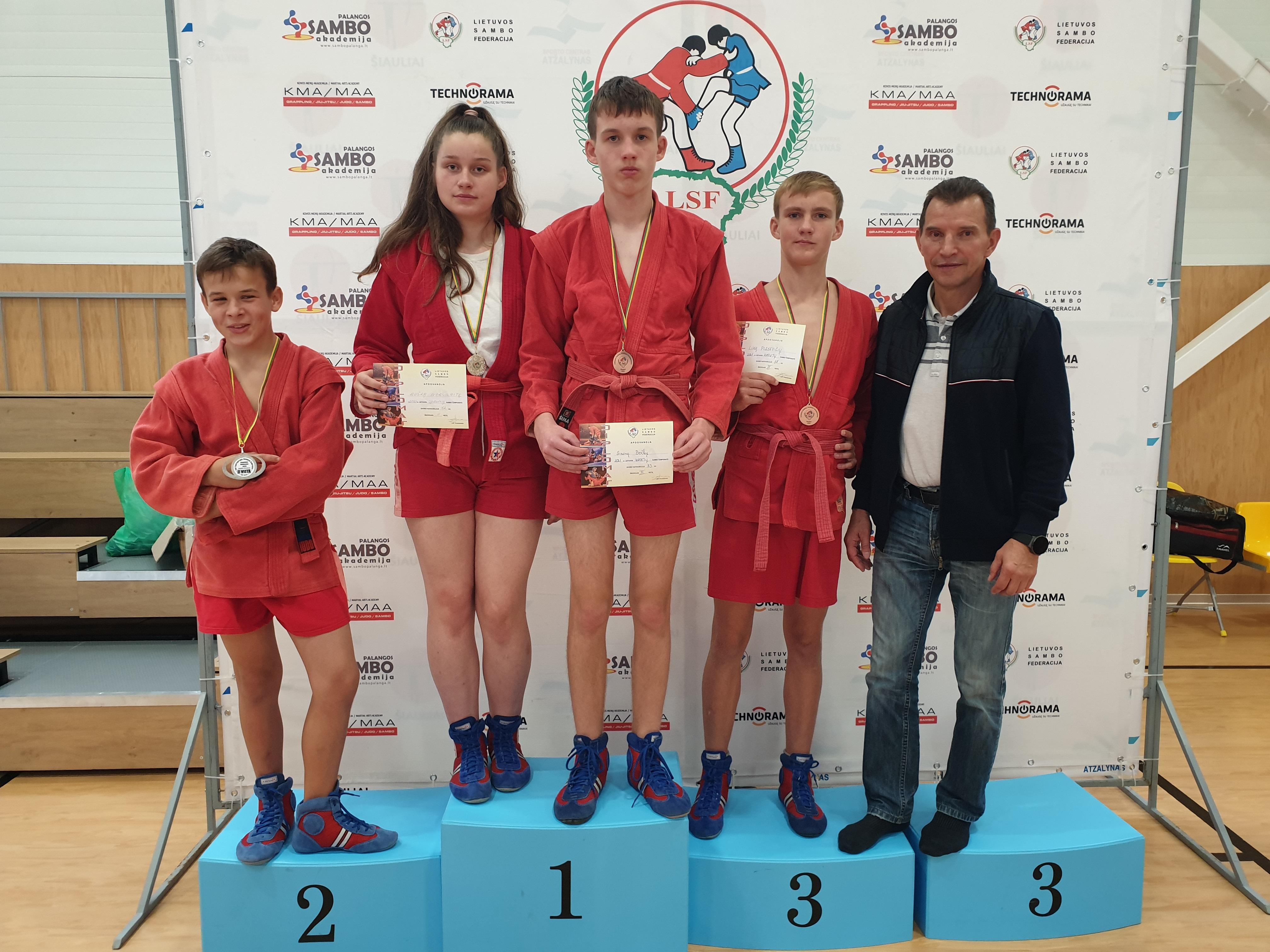 Jaunųjų sambistų medaliai